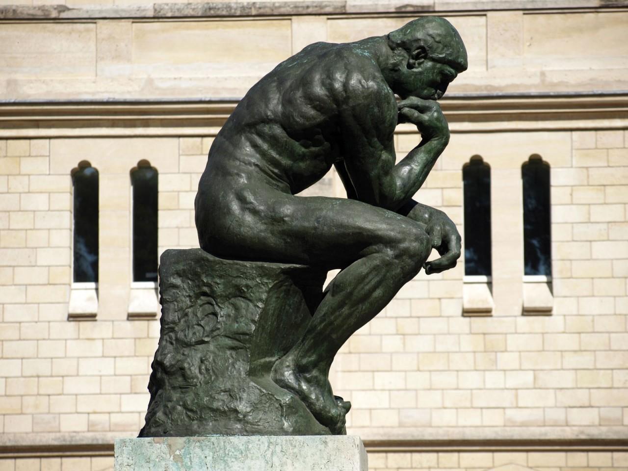 Thinker-Auguste-Rodin